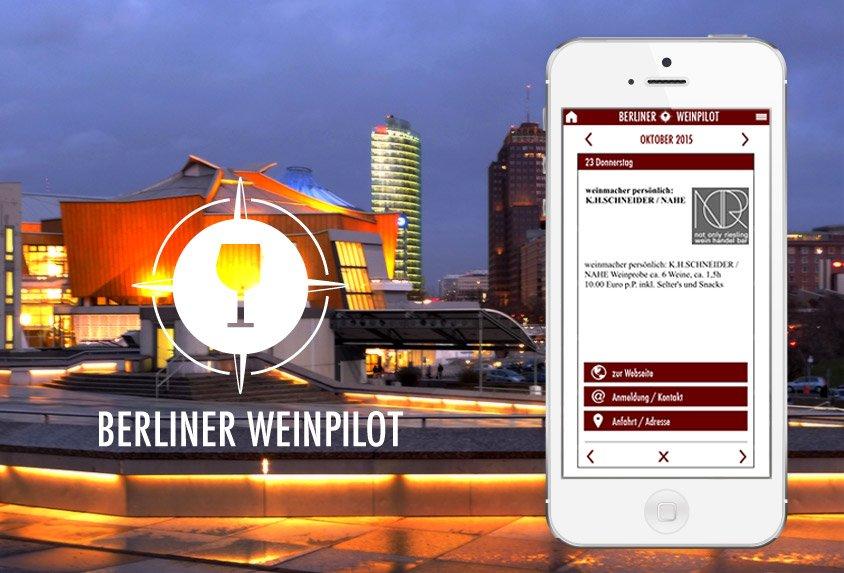 Berliner Weinpilot App Potsdamer-Platz
