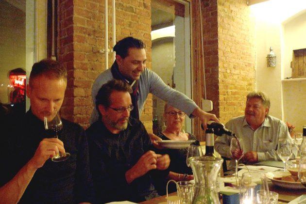 Melro Weinverkostung Teilnehmer Portugiesische Weine