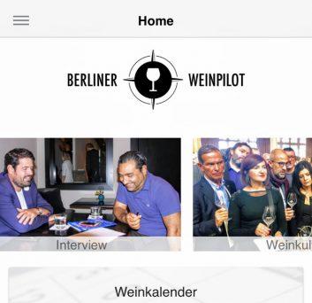 Berliner Weinpilot App