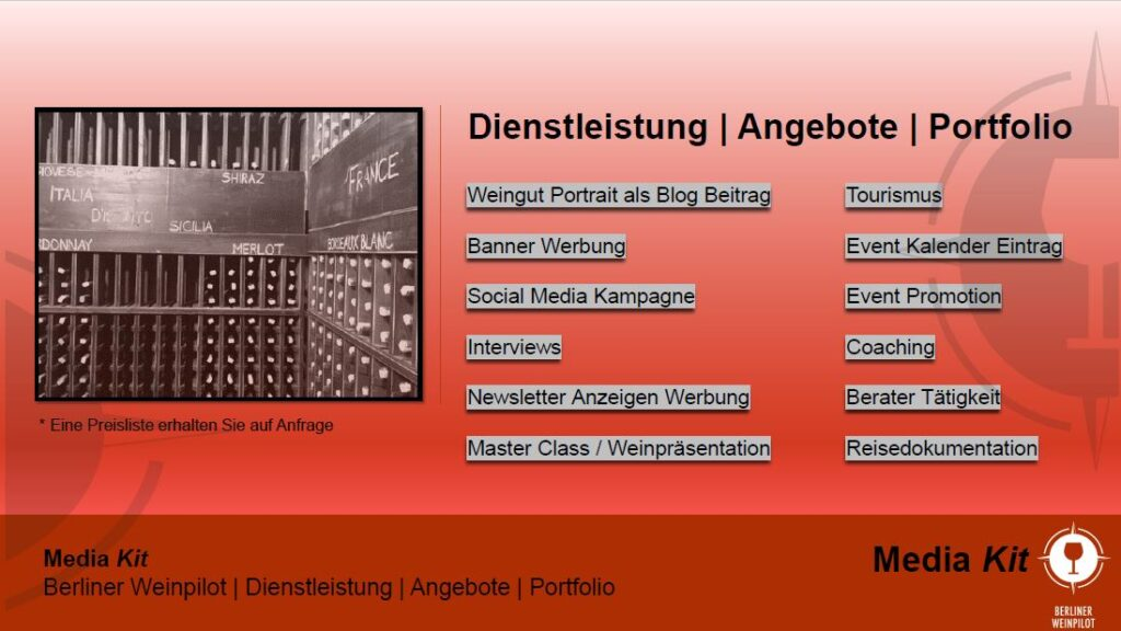 Portfolio   Berliner Weinpilot   Media Kit Daten 2021