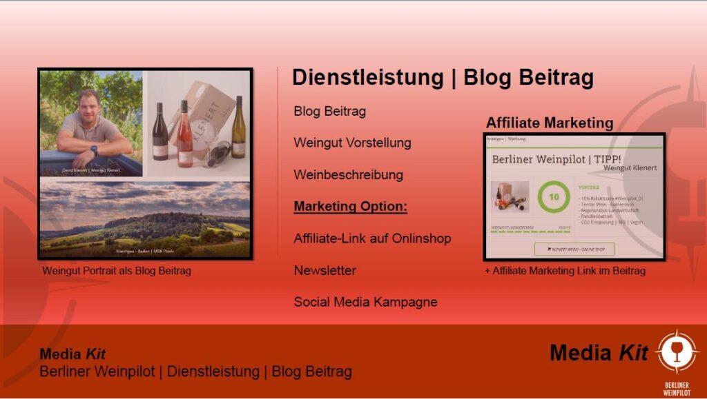 Dienstleistung   Berliner Weinpilot   Media Kit Daten 2021