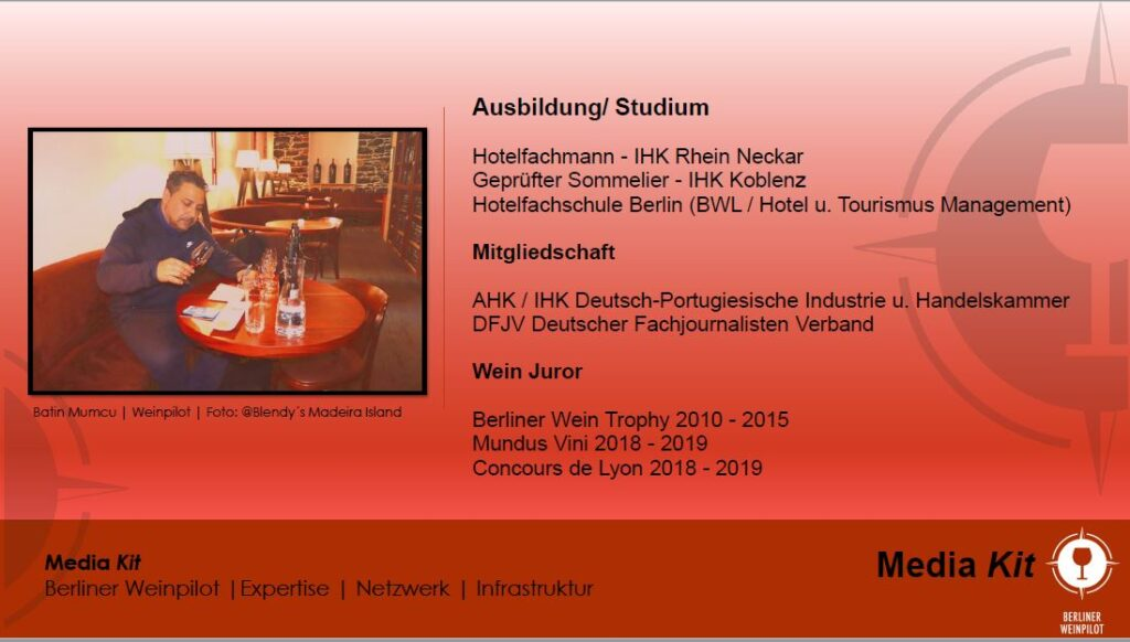 Berliner Weinpilot | Media Kit Daten 2021 | Expertise