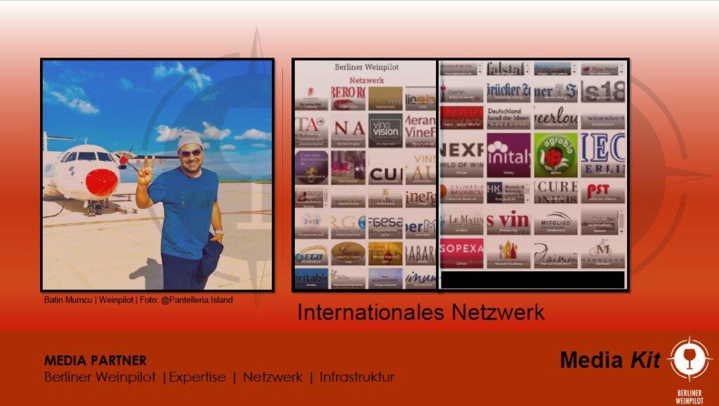 Berliner Weinpilot   Media Kit Daten 2021   Internationales Netzwerk